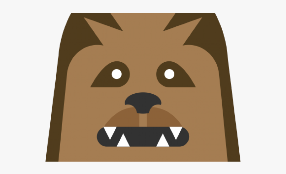 Chewbacca Clipart Drawing, Picture.