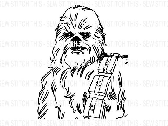 Chewbacca clipart svg, Chewbacca svg Transparent FREE for.