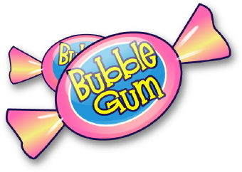 Bubble gum clipart photo.