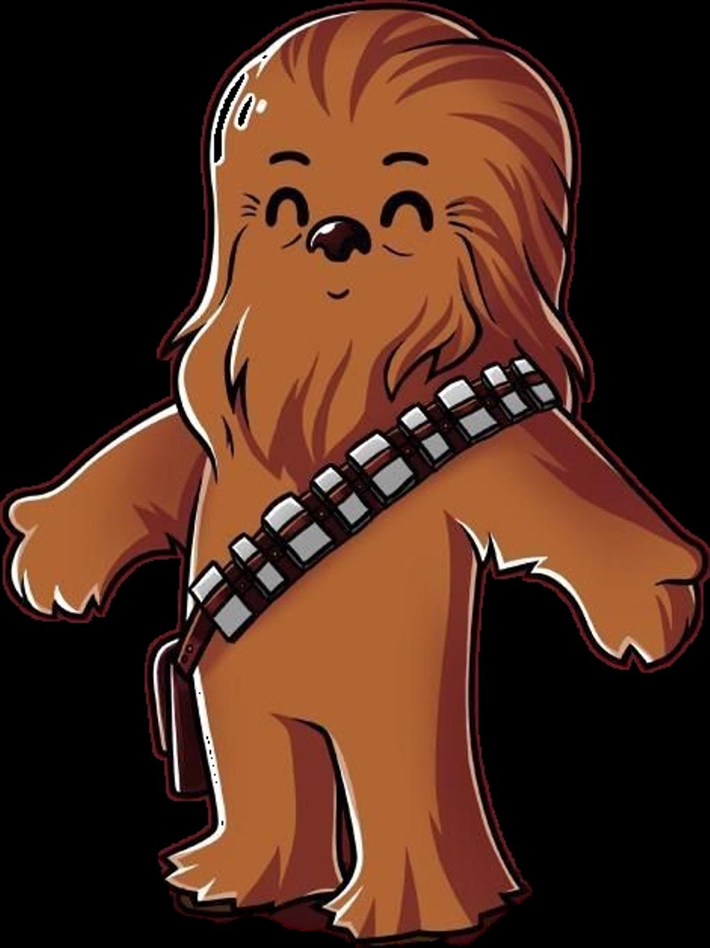 Chewbacca clipart chibi, Chewbacca chibi Transparent FREE.