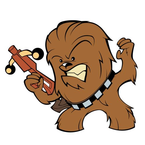 Collection of Chewie clipart.