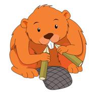 Free Beaver Clipart.