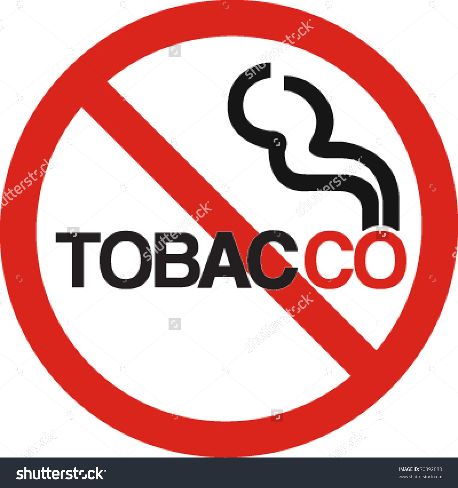 No tobacco clipart.