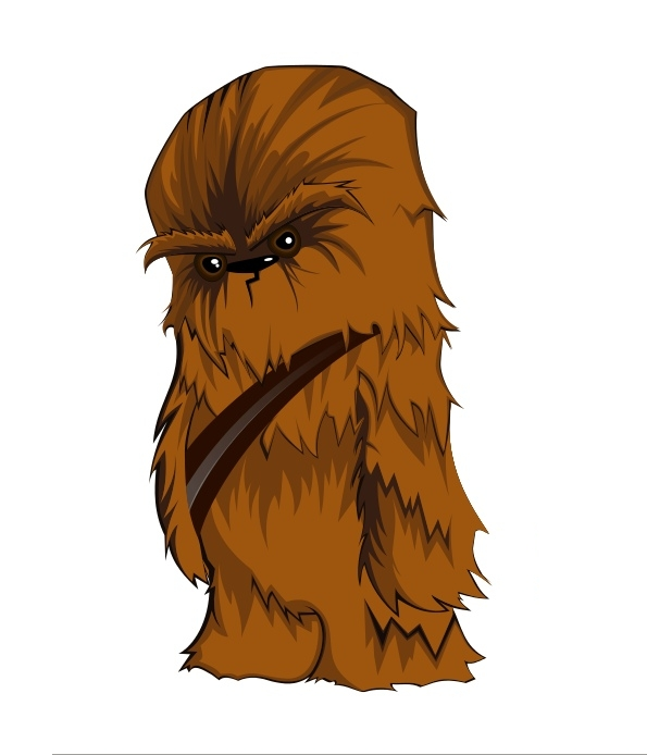 Free star wars chewy clipart.