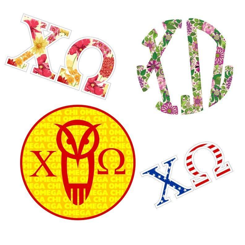 Chi Omega Sticker Grab Bag SALE $12.95..