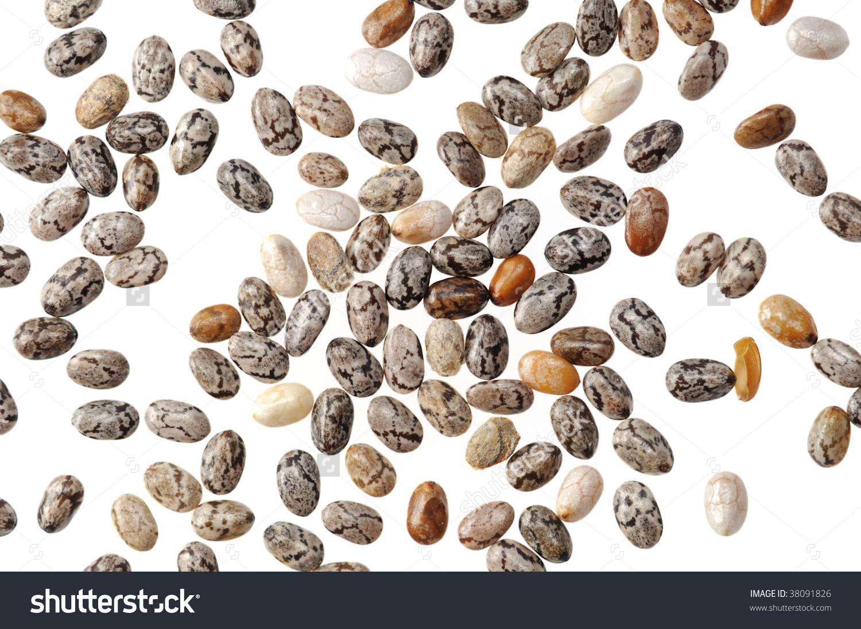 Chia Seeds Stock Photo 38091826.