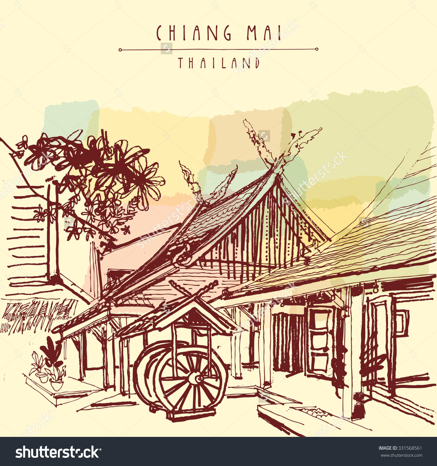 Chiang mai clipart #7
