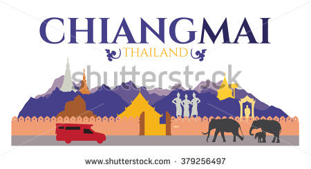 Chiang mai clipart.