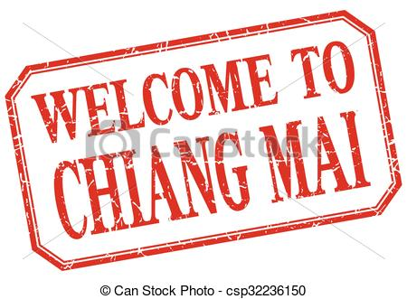 Clipart Vector of Chiang mai.