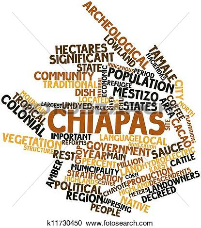 Stock Illustrations of Chiapas k11730450.