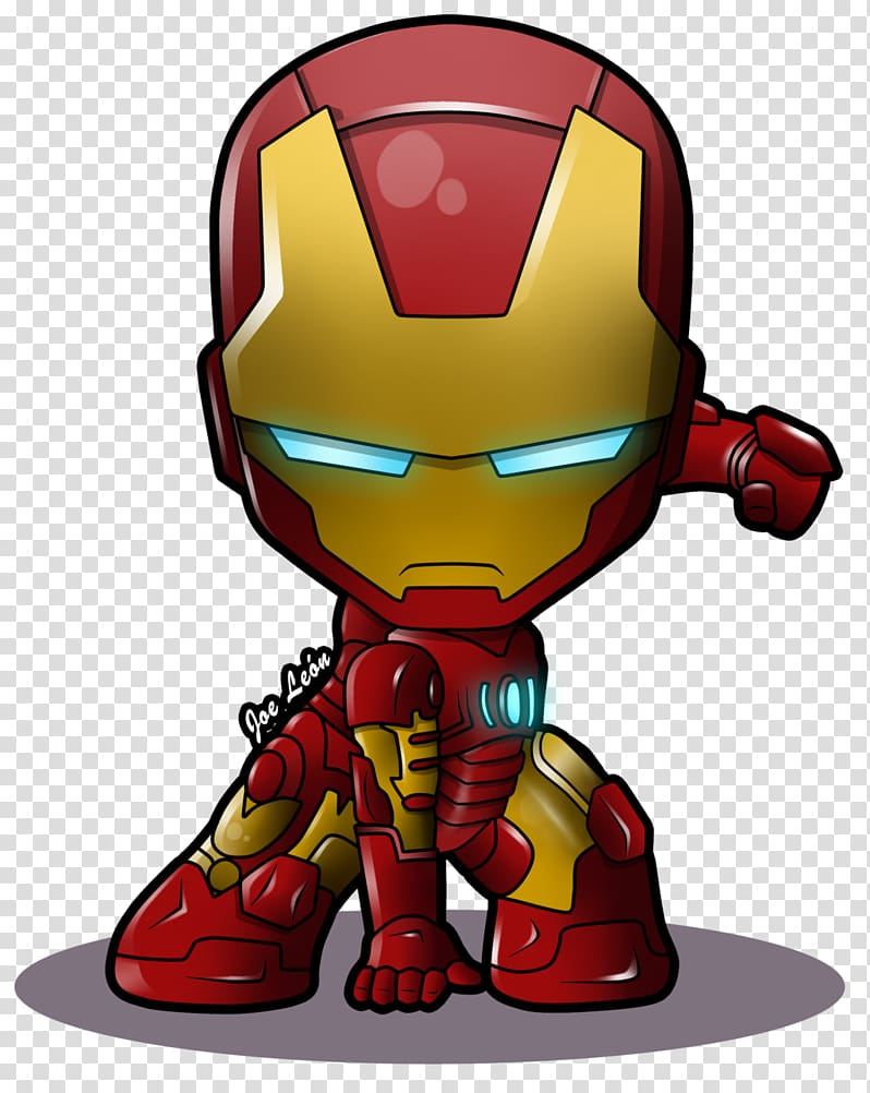 Iron Man Chibi Superhero Marvel Comics, iron, Ironman chibi.