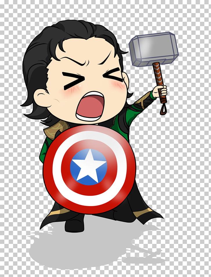 Loki Marvel Avengers Assemble Chibi Thor Drawing, loki.