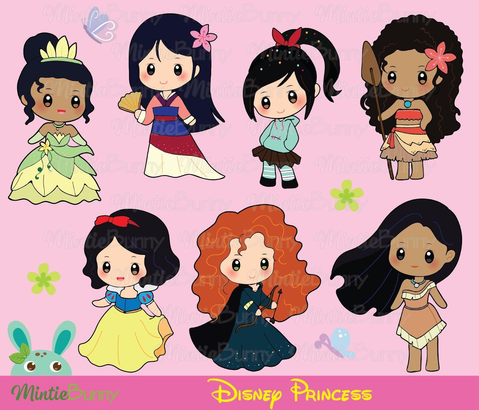 Cute Princess ClipArt.