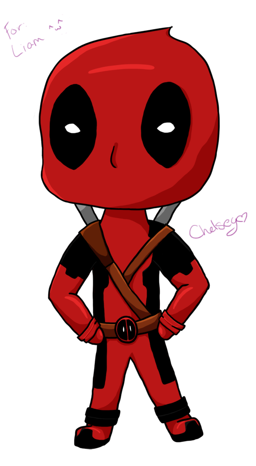 Chibi Deadpool by WH.