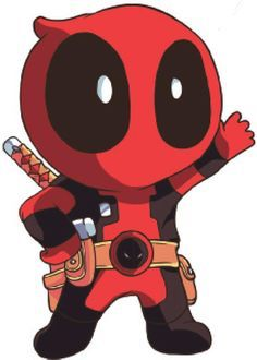 Deadpool and Chibi on Pinterest.