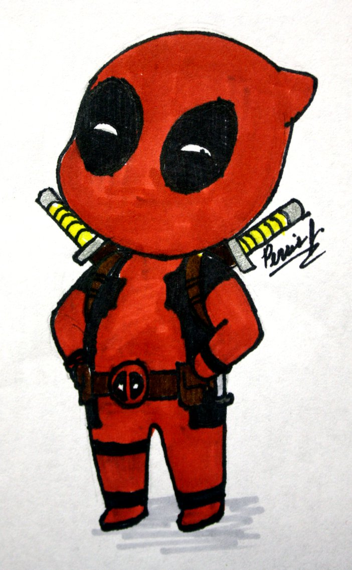 Showing post & media for Baby deadpool cartoon.