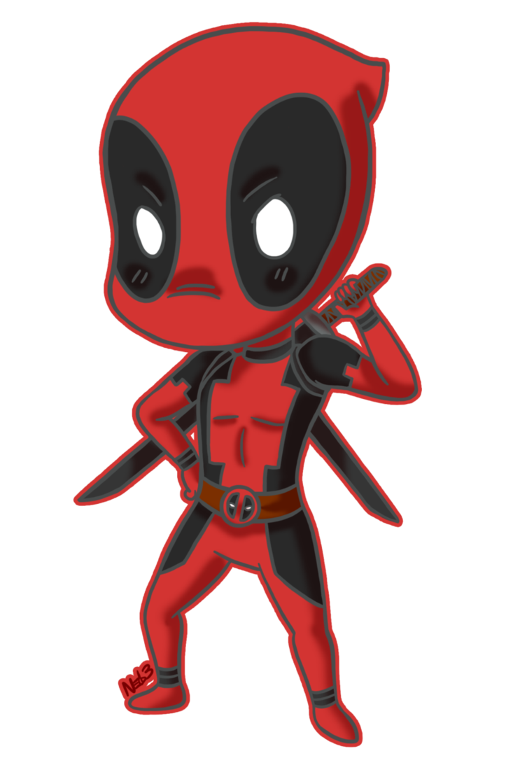 Chibi Deadpool Commission by ~theartslave on deviantART.