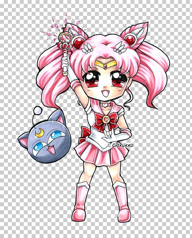 Chibiusa Sailor Moon Sailor Pluto Sailor Mercury Sailor Mars.