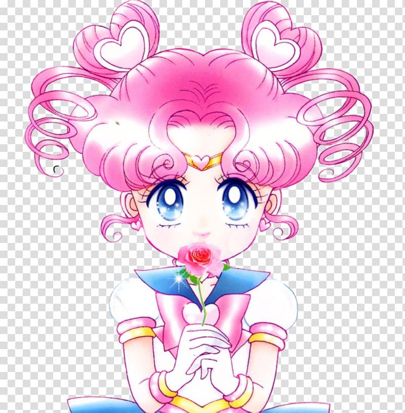 Sailor Moon #11 Chibiusa Sailor Moon supers Tuxedo Mask.
