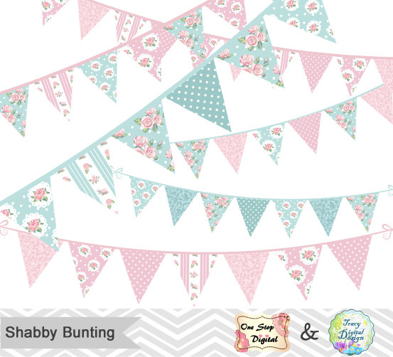 Shabby chic clipart.