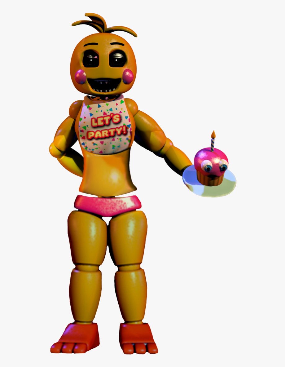 Toy Chica Png.