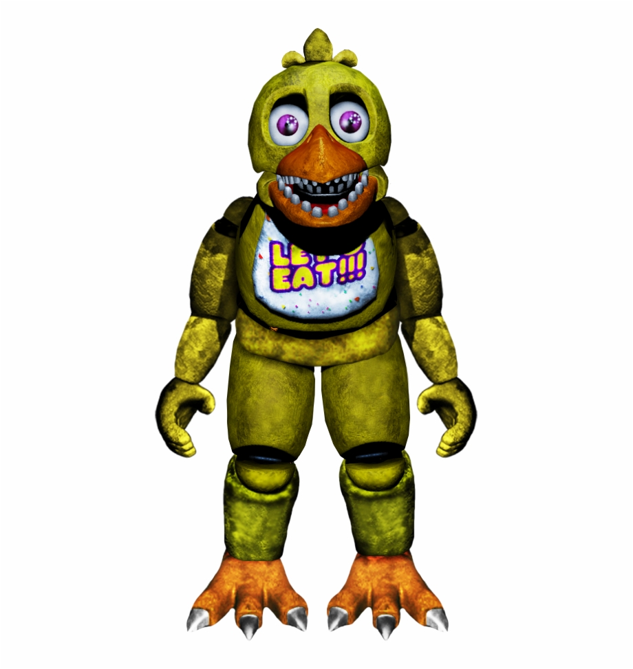 Five Nights At Freddys Chica Png.