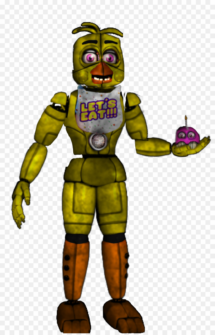 Chica PNG Fnaf 1 Five Nights At Freddy's: Sister Location Five.