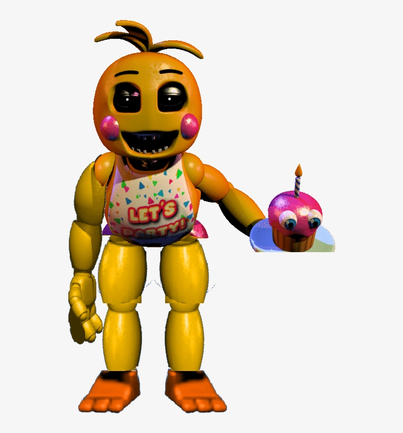 Nightmare Toy Chica.