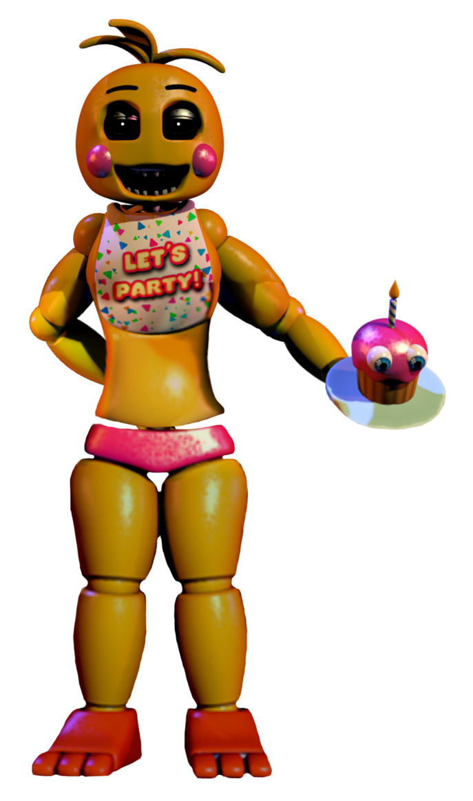 FNaF 2: Toy Chica PNG..