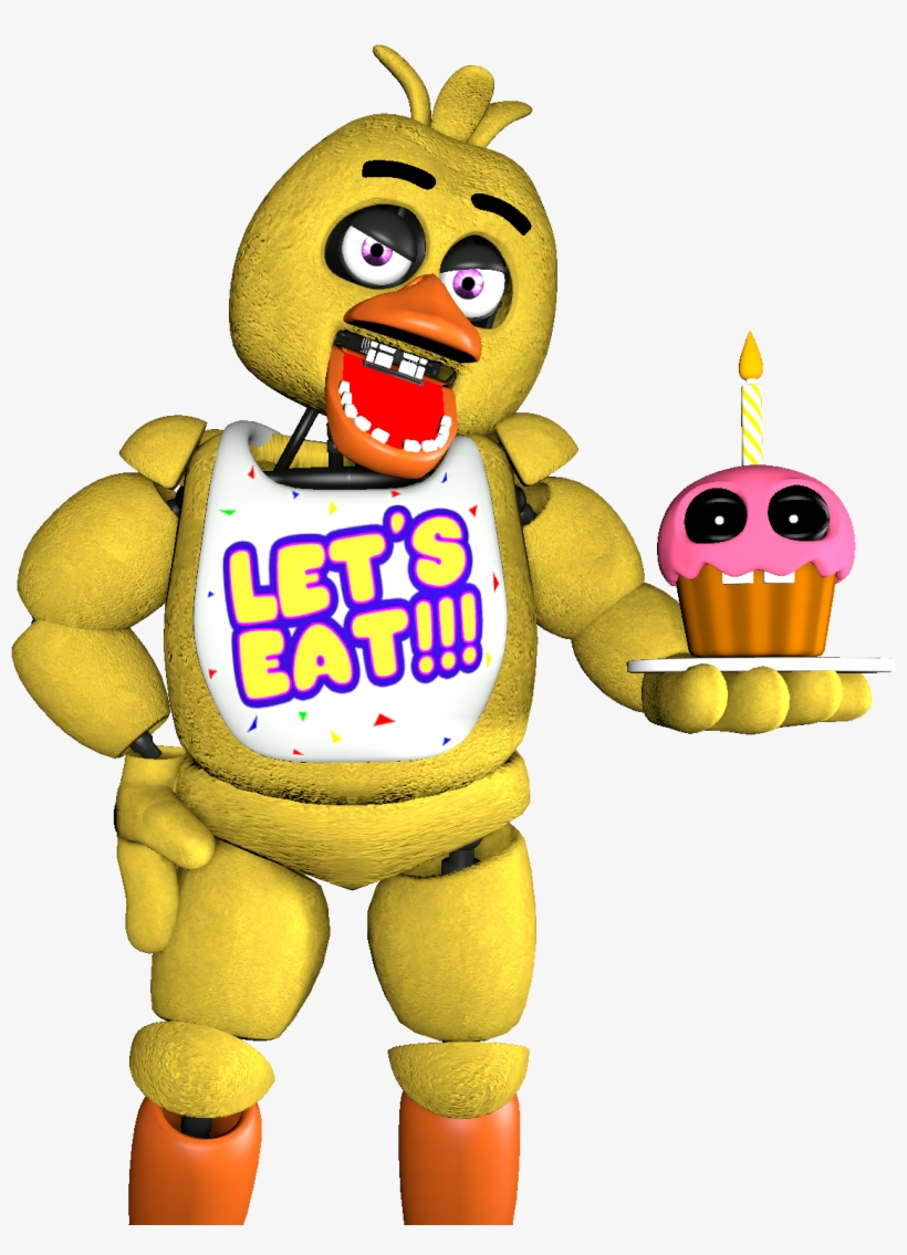 Fnaf Renders Series Album On Imgur Png Chica The Chicken.