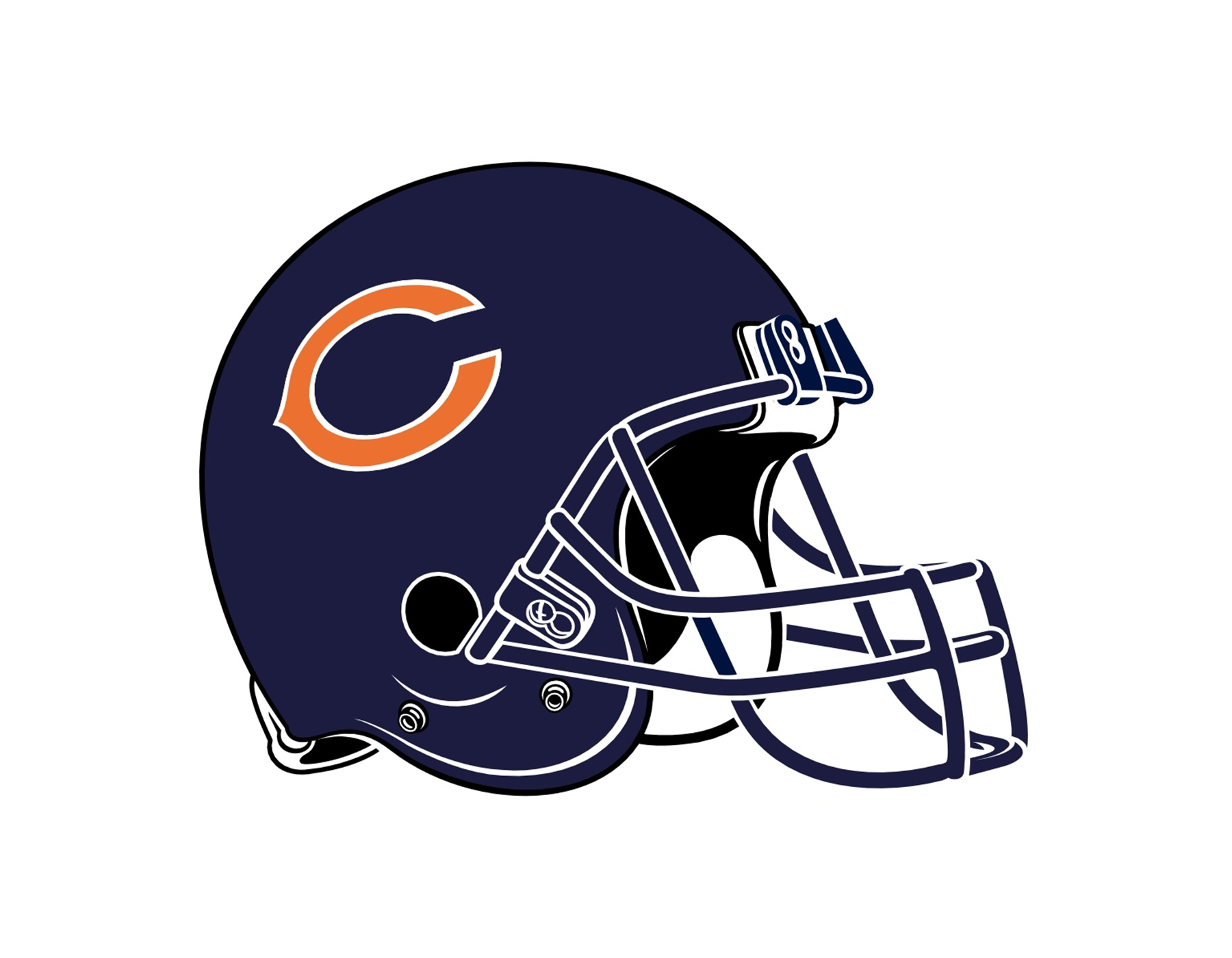 Chicago bears helmet download free clipart with a.
