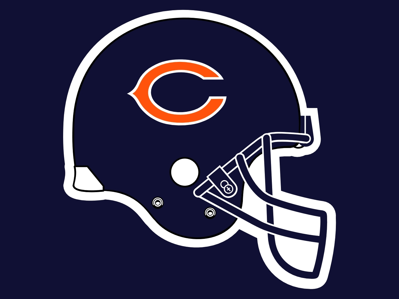 Free Chicago Bears Helmet Png, Download Free Clip Art, Free.