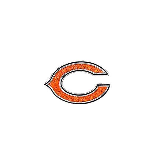 Amazon.com: Season Jewelry NFL Chicago Bears Crystal Logo Ring: Clothing.