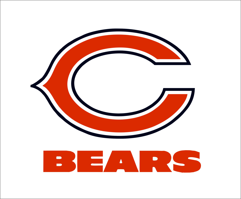Chicago Bears logo Digital File (SVG cutting file + pdf+png+dxf).