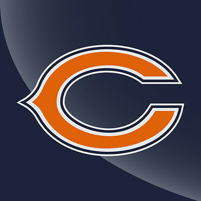 Chicago Bears Logo 3 Color Decal Sticker.