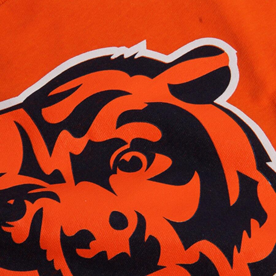 Youth Chicago Bears Orange Primary Logo T.