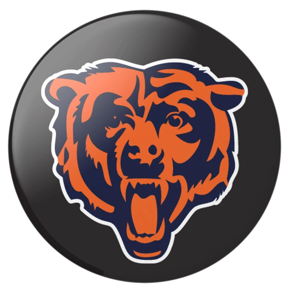 PopSockets Swappable Chicago Bears Logo Phone Grip.