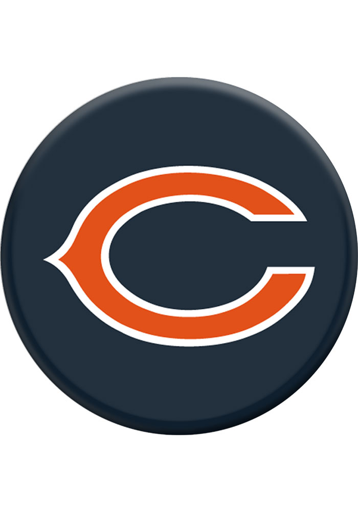 Chicago Bears Navy Blue Helmet Logo PopSocket.