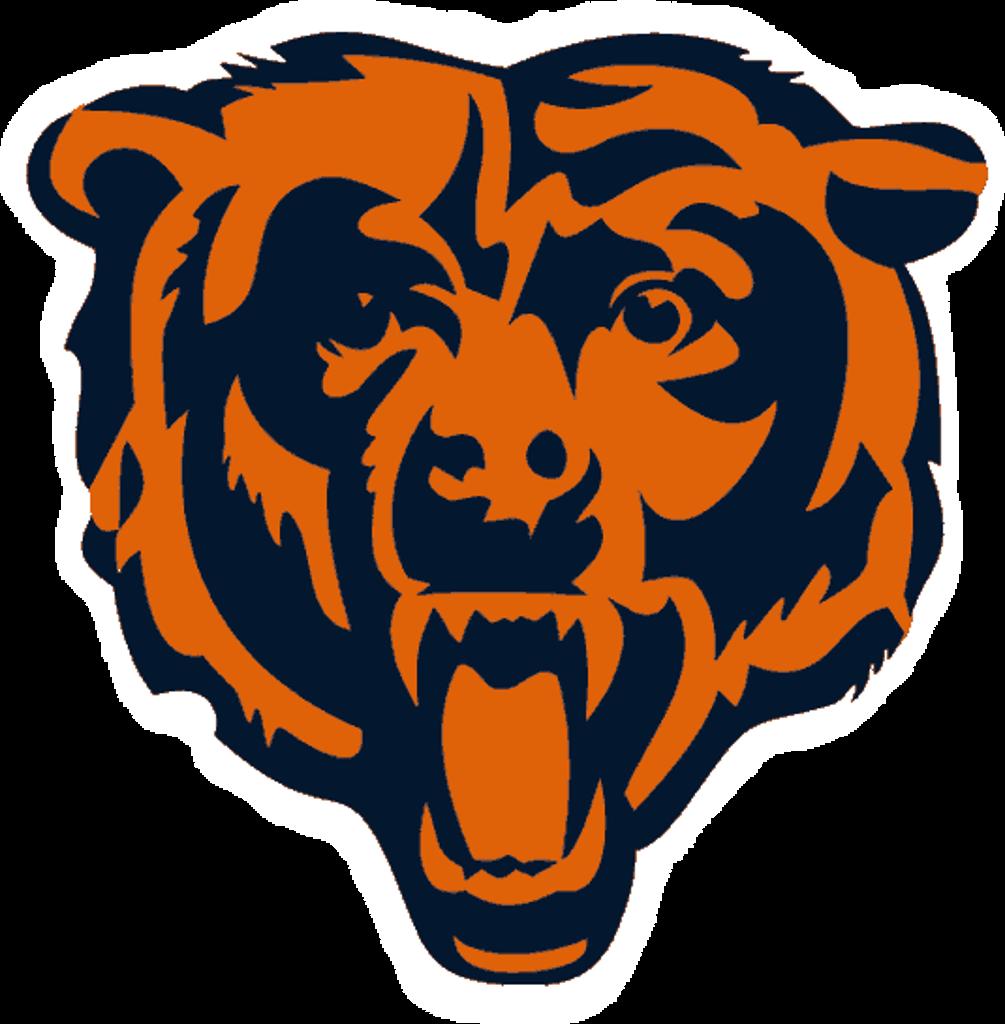 Chicago Bears Logo transparent PNG.