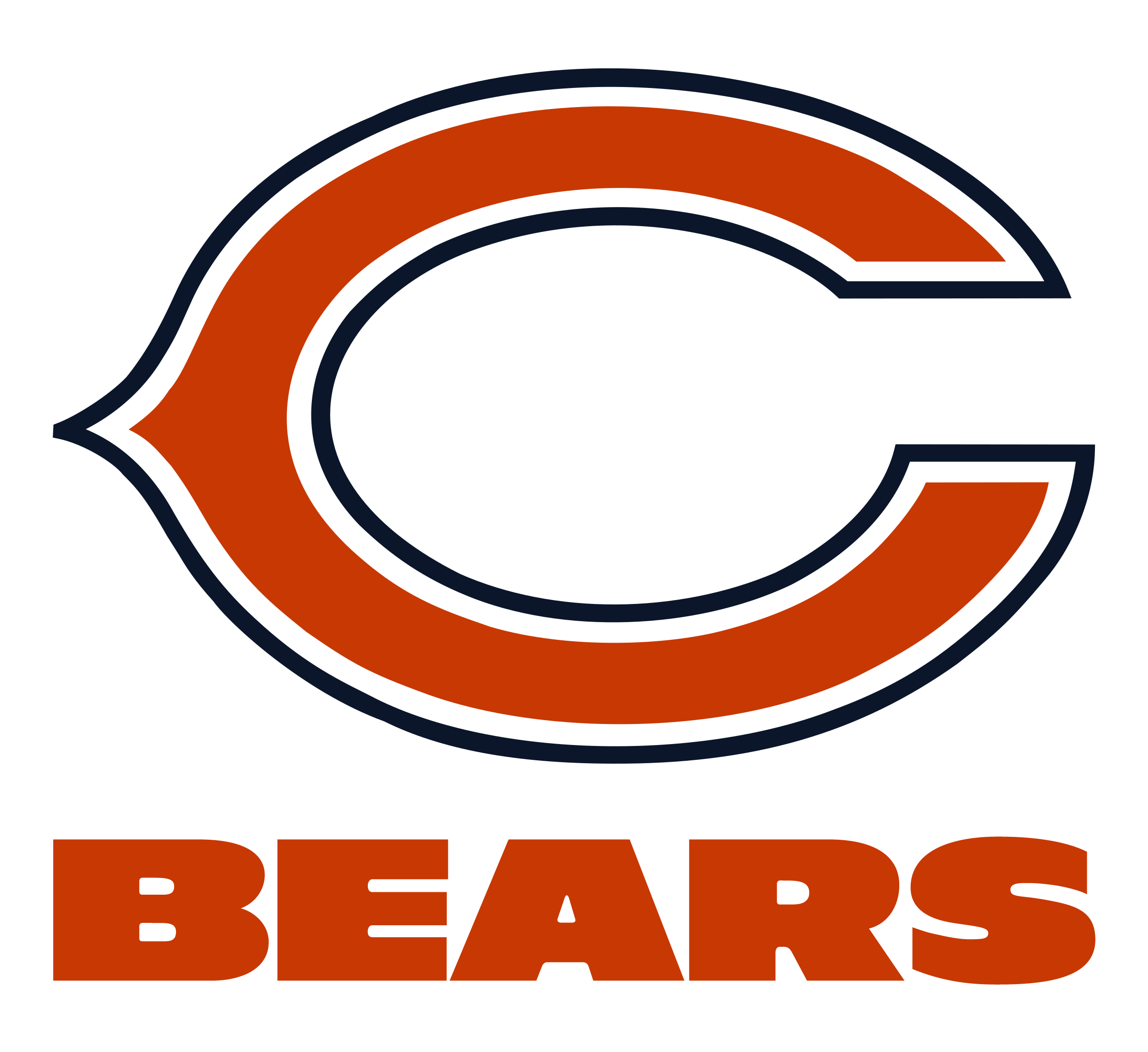 Chicago Bears Logo PNG Transparent & SVG Vector.