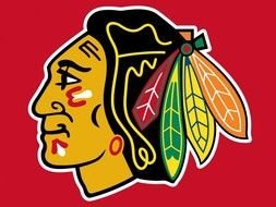 Chicago Blackhawks clipart drawing free image.