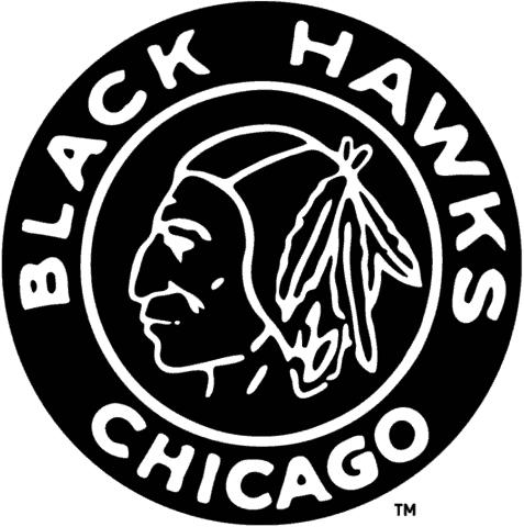 Chicago Blackhawks Logo History.