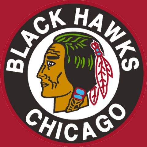 Chicago Blackhawks Logo History.