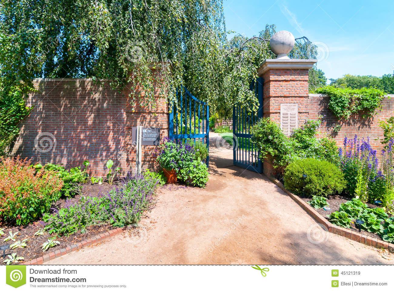 Chicago Botanic Garden, USA Stock Photo.