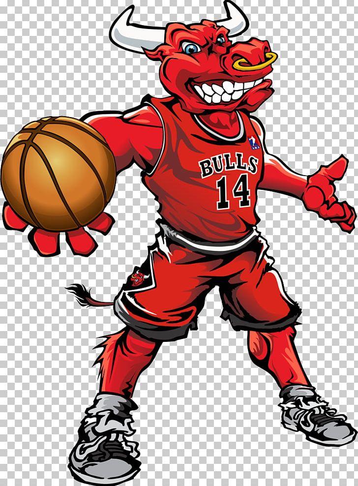 Chicago Bulls Washington Wizards Mascot Basketball Benny The Bull.