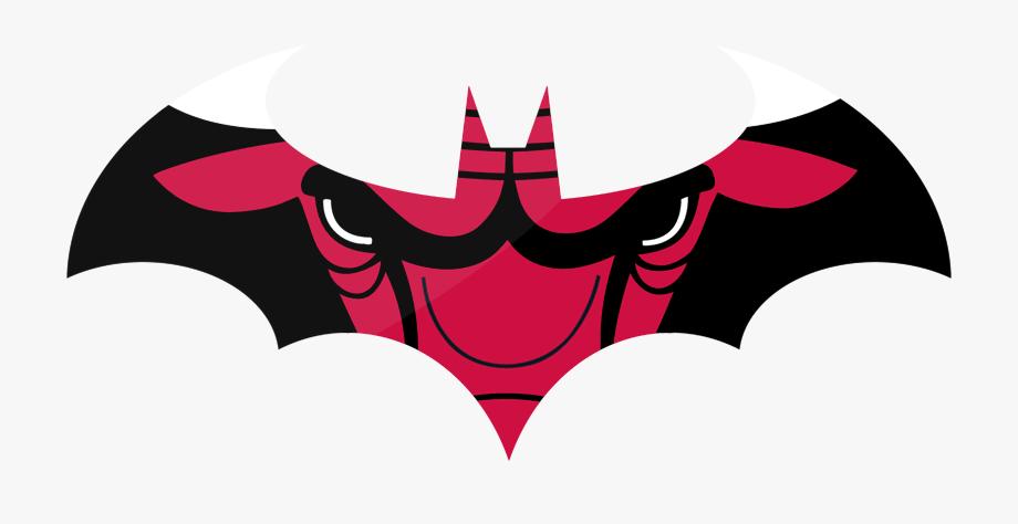 Chicago Bulls Batman Logo Clipart , Png Download.