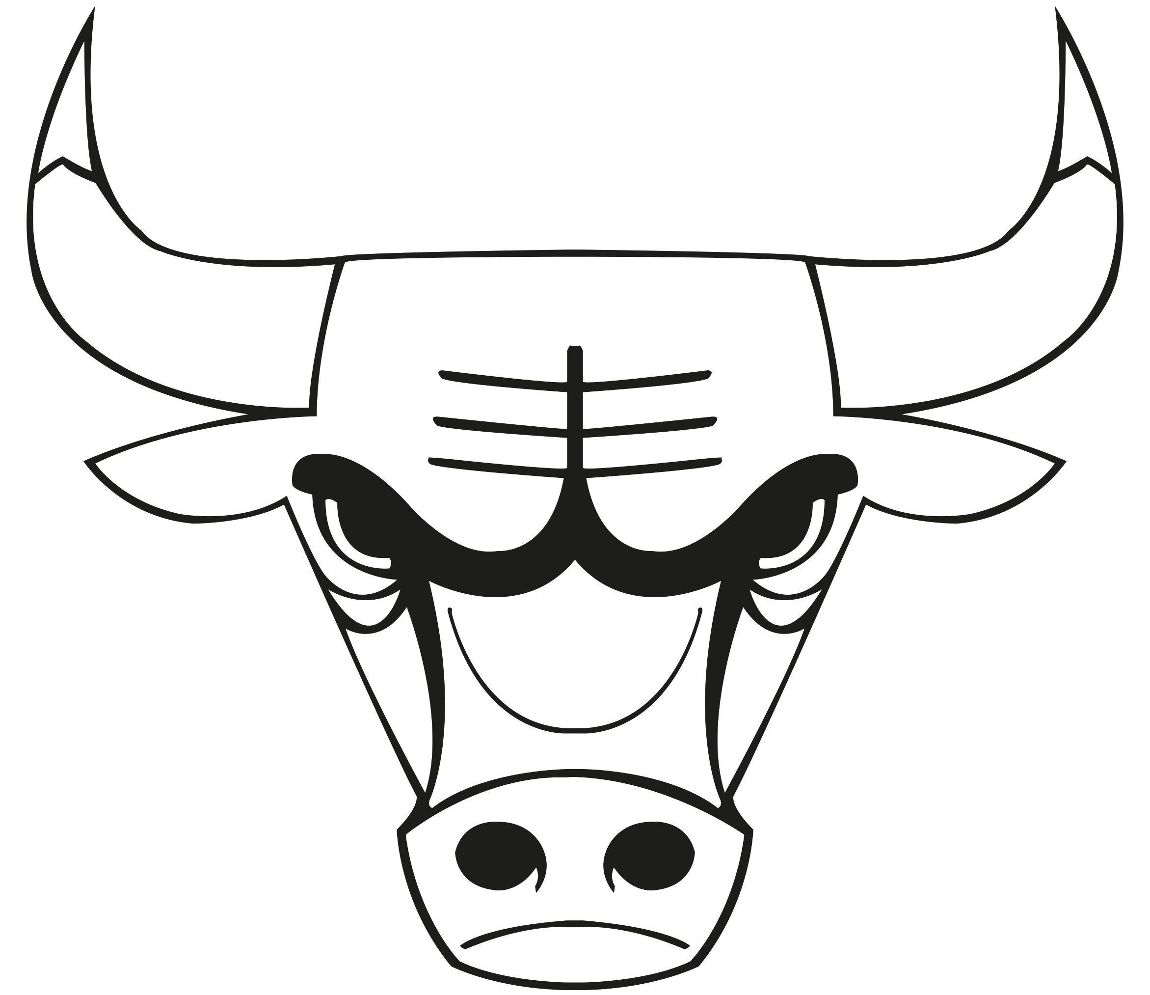 images of the chicago bulls logo.