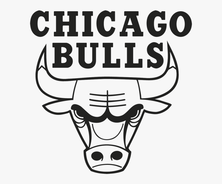 Chicago Bulls Clipart Black And White , Free Transparent.