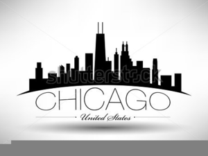 Chicago Skyline Clipart.
