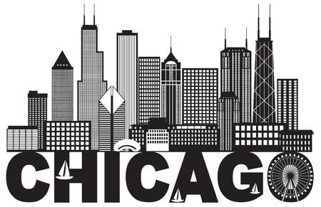 1,197 Chicago Skyline Stock Illustrations, Cliparts And Royalty Free.